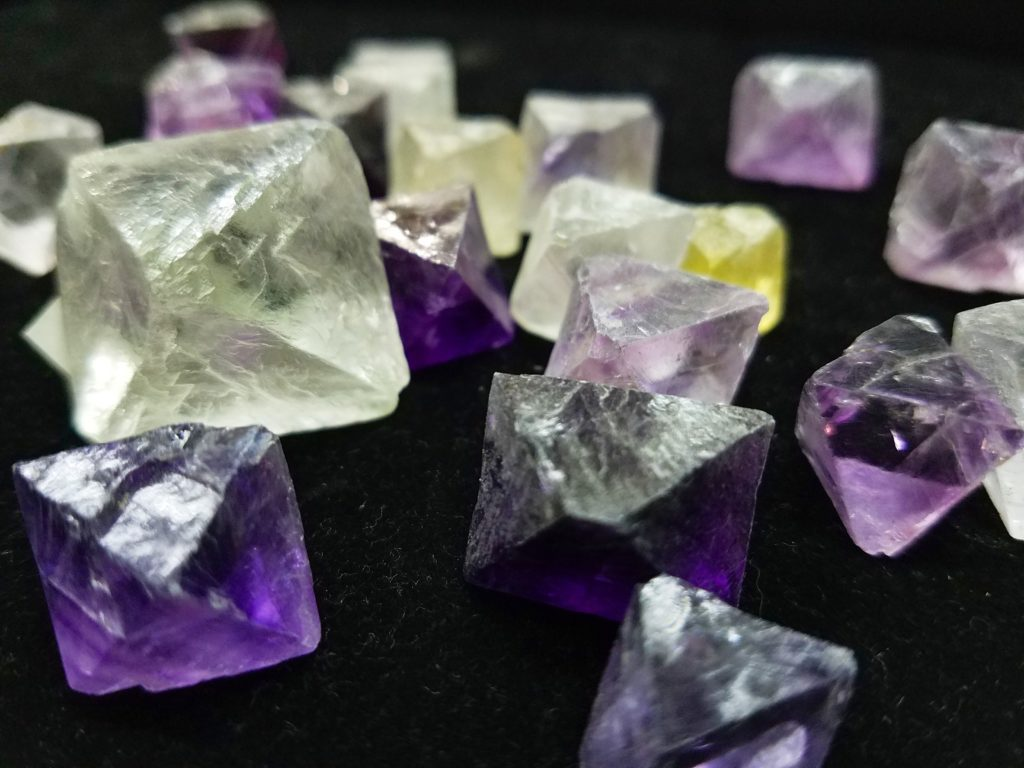 Fluorite-crystals in Naples FL at Altered Elements Store
