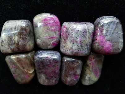 Ruby Albite crystals in Naples FL at Altered Elements Store