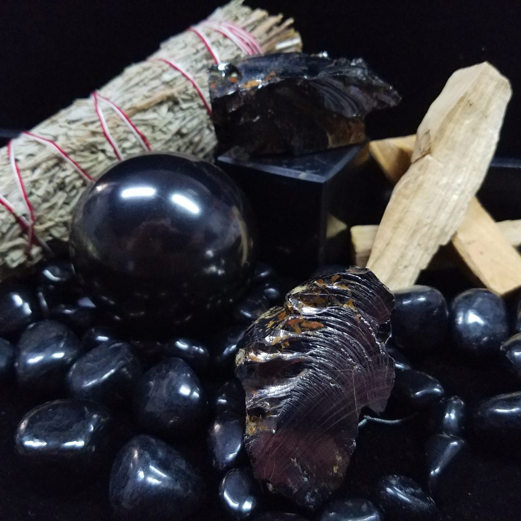 Shungite mineral-crystals in Naples FL at Altered Elements Store